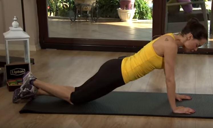 ejercicio para la cintura y gluteos