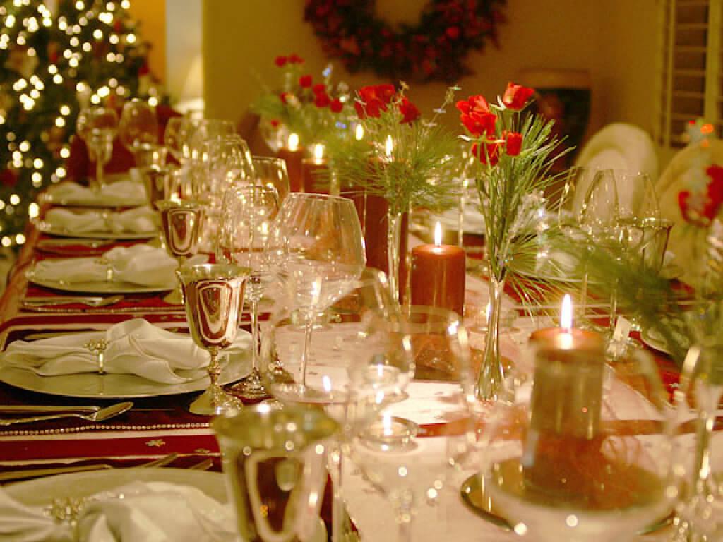 Cena de navidad o a o nuevo baja en calor as - Como hacer una mesa baja de salon ...