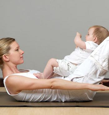 ejercicios paa bebes y mamas