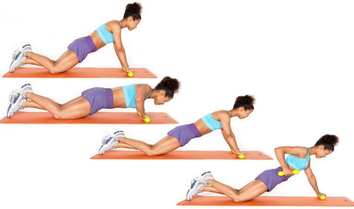 rutina triceps