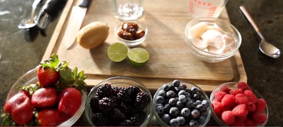 desayunos saludables con fruta
