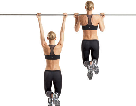 Ejercicios para brazos en casa - Barras de ejercicio para casa ...