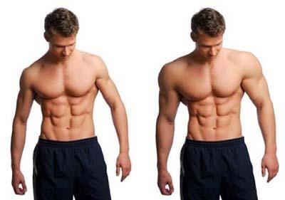 lograra aumento de masa muscular