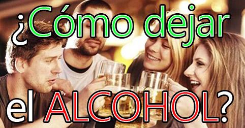como dejar el alcohol