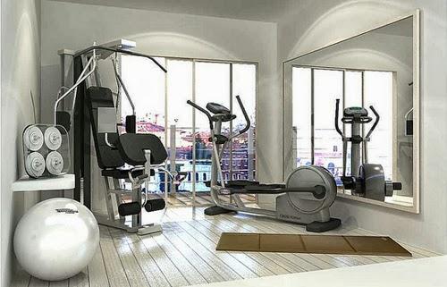 C mo armar tu propio gimnasio en casa - Casa con gimnasio ...