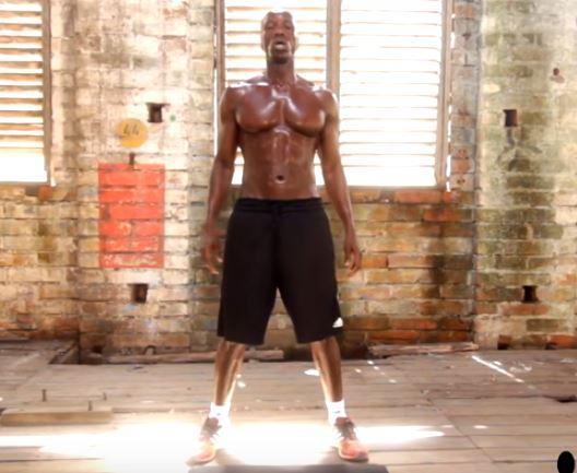 ejercicios para sudar