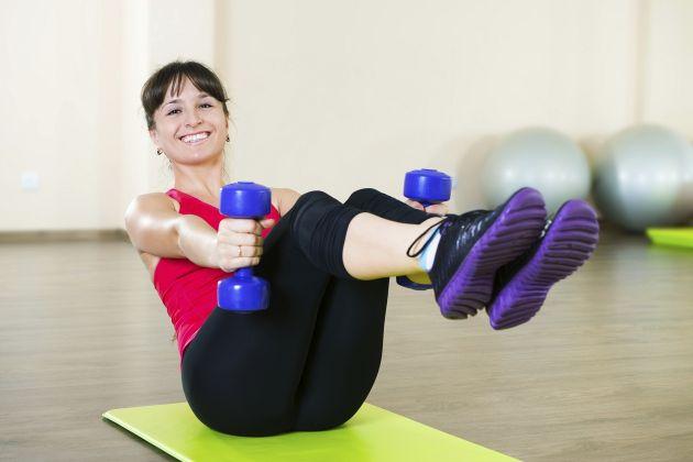 ejercicio principiantes en casa