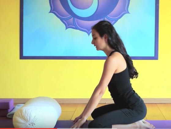 postura para la hernia discal